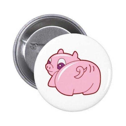 Pig Butt Button