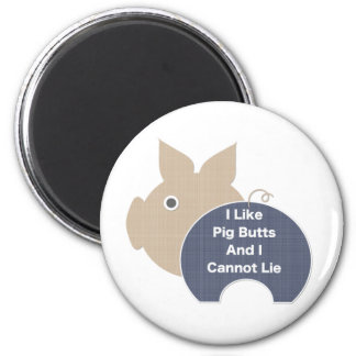 Pig Butt Magnet