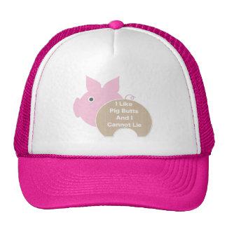 Pig Butt Trucker Hat