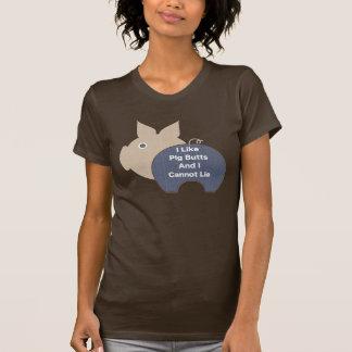 Pig Butts (blue) T-Shirt