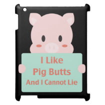 Pig Butts Cover For The iPad