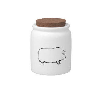 Pig Candy Jars