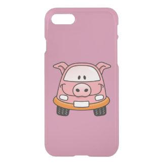 Pig cartoon car iPhone 7 case
