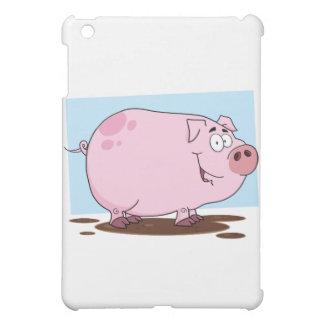 Pig Cartoon Character iPad Mini Covers