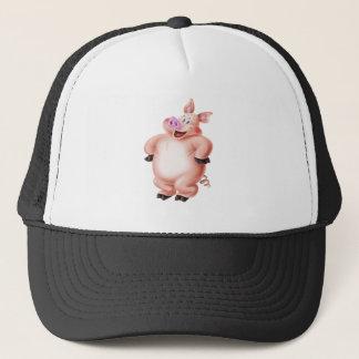 Pig, cerdo, porco, Schwein, cochon Trucker Hat