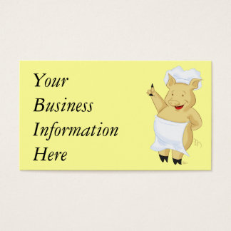 Pig Chef Business Cards