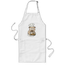 Pig Chef Long Apron