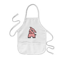 Pig Childrens Apron