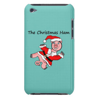 Pig Christmas Ham iPod Touch Case