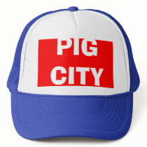 PIG CITY TRUCKER HAT
