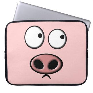 Pig Computer Sleeve