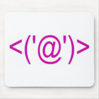 Pig Computer Symbol Mouse Pad