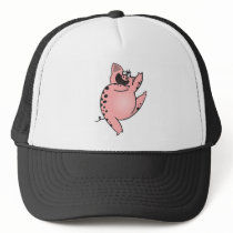 Pig | Crazy Pig Dancing | Crazy Cartoon Pig Trucker Hat