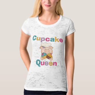 Pig Cupcake Queen T-shirts and Gifts