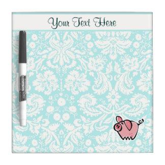 Pig; Cute Dry Erase Board