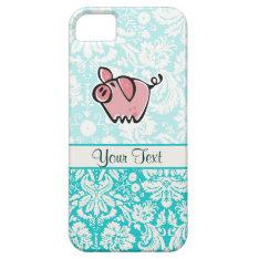 Pig; Cute Iphone Se/5/5s Case at Zazzle