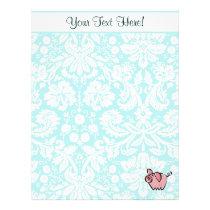 Pig; Cute Letterhead