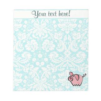 Pig; Cute Notepad