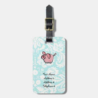 Pig; Cute Tag For Luggage