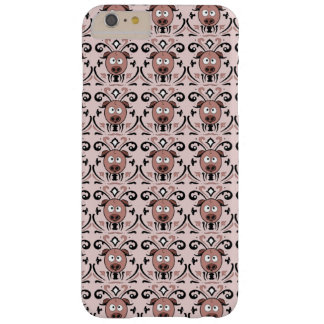 Pig Damask Pattern Barely There iPhone 6 Plus Case