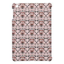 Pig Damask Pattern iPad Mini Case
