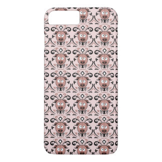 Pig Damask Pattern iPhone 8 Plus/7 Plus Case