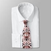 Pig Damask Tie