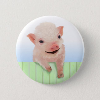 Pig Day Button