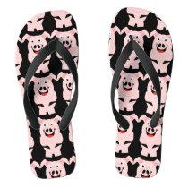 Pig Design Flip Flops