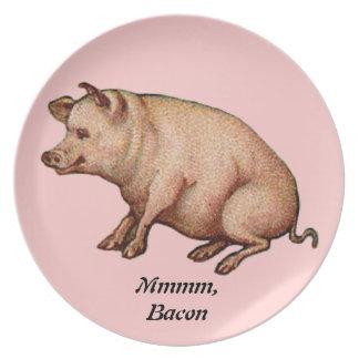 Pig Dinner Plate