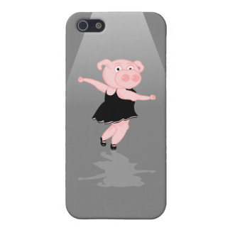 Pig doing Ballet Cover For iPhone SE/5/5s