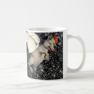 Pig Dreams Classic White Coffee Mug