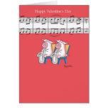PIG DUET Valentines by Boynton Card