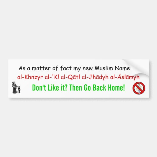 Pig-eating Jihadist eliminator Bumper Sticker
