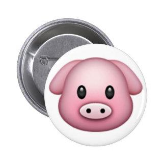 Pig Emoji 2 Inch Round Button