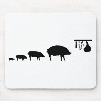 pig-evolution.png mouse pad