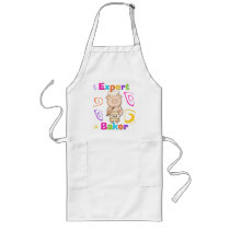 Pig Expert Baker Tshirts and Gifts Long Apron
