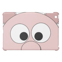 Pig Face on iPad Case