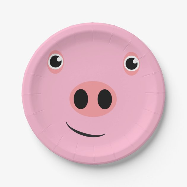 Pig Face Paper Plate Zazzlecom  sc 1 st  Castrophotos & Paper Plate Faces - Castrophotos