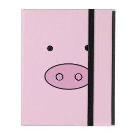 Pig Face, Pig Nose, Pig Snout, Little Piggy - Pink iPad Case