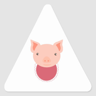 Pig Face Stickers