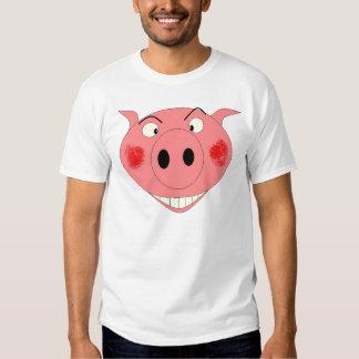 PIG FACE TEE SHIRT