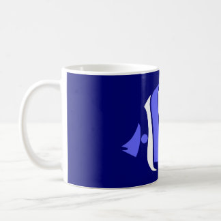 Pig Faced Butterfly Fish Coffee Mug