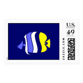 Pig Faced Butterfly Fish Postage