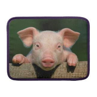 Pig farm - pig face MacBook sleeve