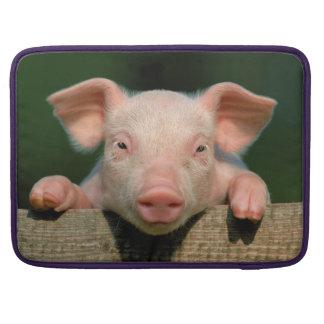 Pig farm - pig face sleeve for MacBooks