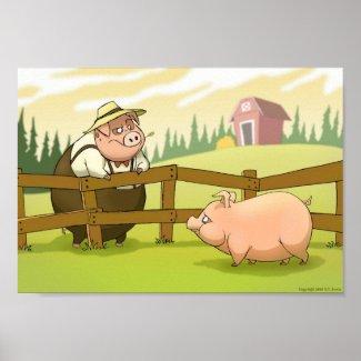 Pig Farm print