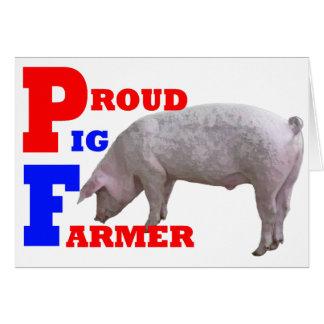 Pig Farmer Card