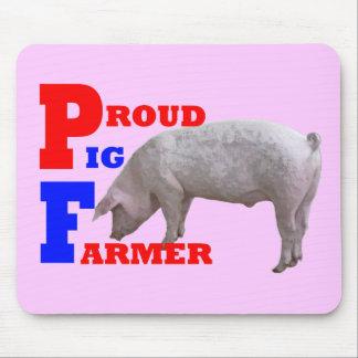 Pig Farmer Mouse Pad