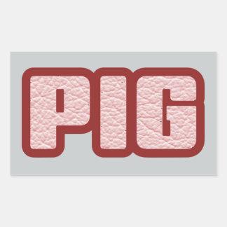 PIG Gear 2 Rectangular Sticker